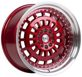 "Felgi aluminiowe 19"" 59 North Wheels D-007 19x9,5 ET25 5x114,3/120 Candyred/polished"