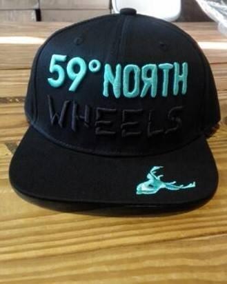59 North Wheels - Snapback czarny