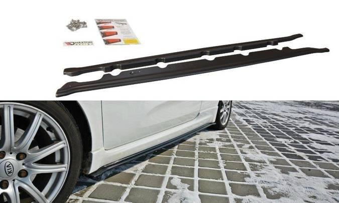 Dokładki progow Maxton Kia Cee'd / Pro Cee'd GT MK2 (carbon look)