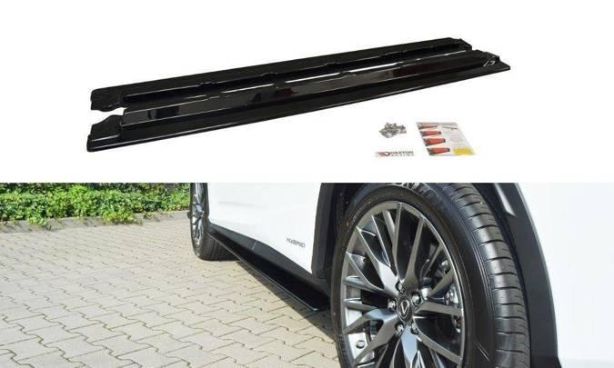 Dokładki progów Maxton Lexus RX MK4 (czarny połysk)