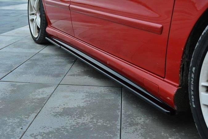 Dokładki progów Maxton Seat Leon Cupra MK1 (czarny mat)