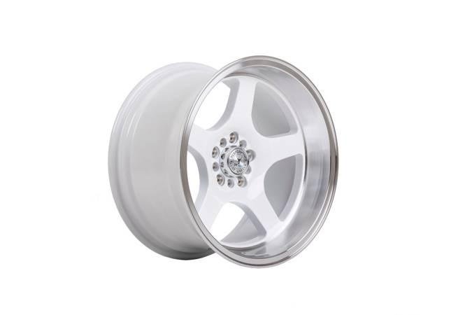 "Felgi aluminiowe 17"" 59 North Wheels D-004 17x8,5 ET10 5x114,3/120 White/polished"