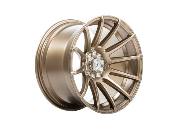 """Felgi aluminiowe 18"""" 59 North Wheels D-005 18x10,5 ET15 5x108/112 Matte Bronze"""
