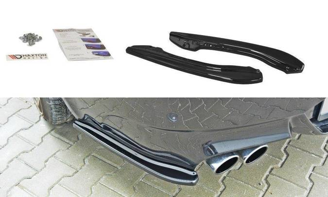 Splittery tylne BMW M6 E63 (czarny mat)