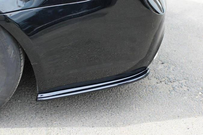 Splittery tylne boczne Maxton BMW 3 E91 M-Pack Polift (czarny połysk)