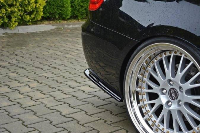Splittery tylne boczne Maxton BMW 3 E92 M-Pack Polift (czarny połysk)