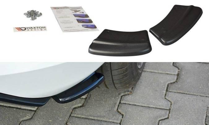 Splittery tylne boczne Maxton Ford Fiesta MK8 ST-Line (czarny połysk)