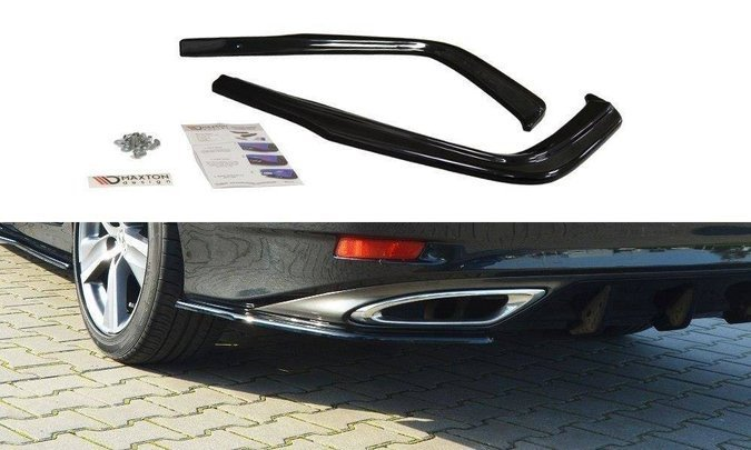 Splittery tylne boczne Maxton Lexus GS MK4 Polift T (carbon look)