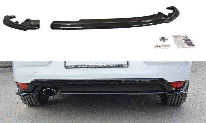 Splittery tylne boczne Maxton Renault Megane MK4 Hatchback (carbon look)